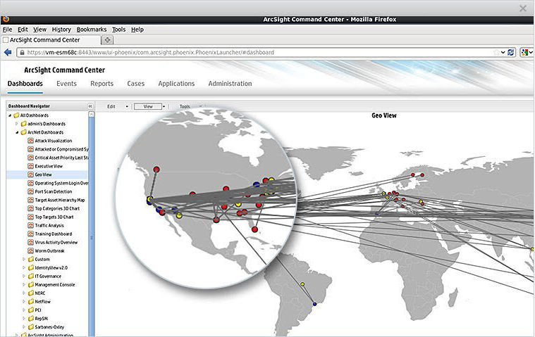 ArcSight SIEM Express Screenshots
