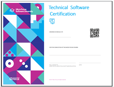 Technical certificate