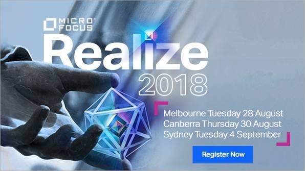 Micro Focus Realize 2018