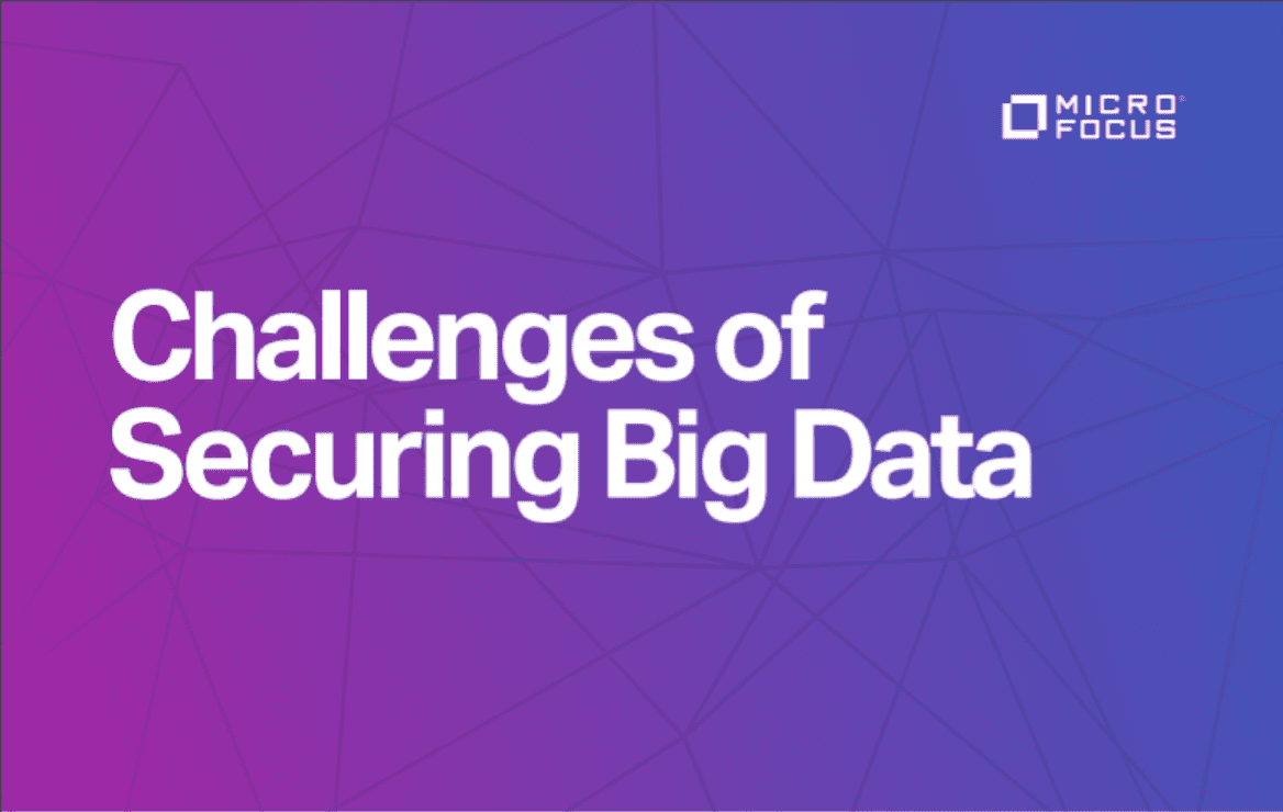 The challenges of securing big data