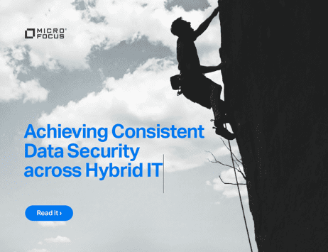 Achieving Consistent Data Security across Hybrid IT