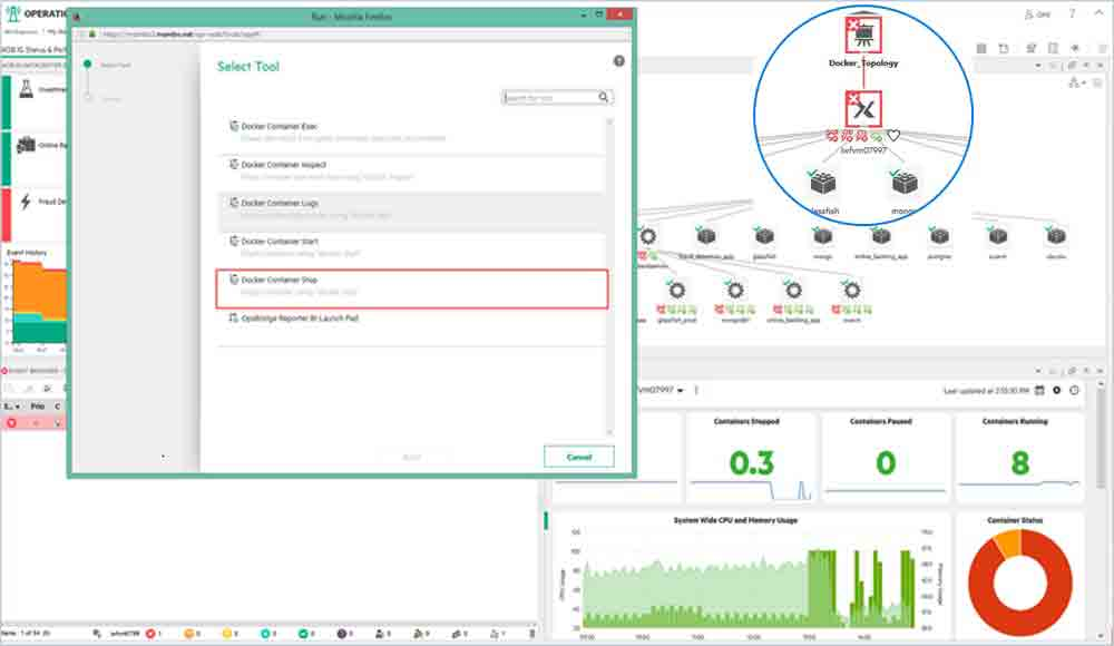 Operations Bridge Suite: Hybrid IT Infrastructure Monitoring