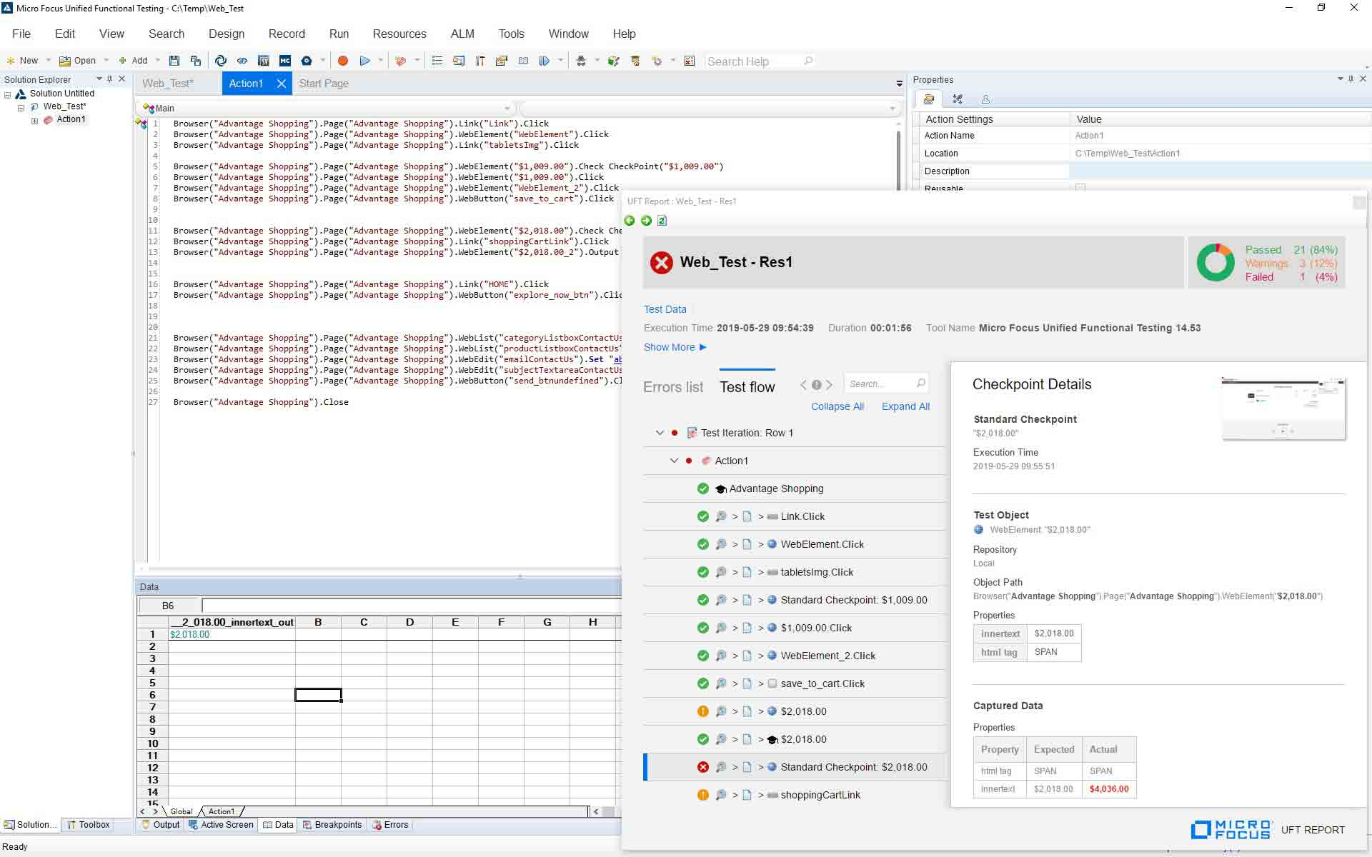 Unified Functional Testing (UFT): Automated Testing Tool | Micro Focus